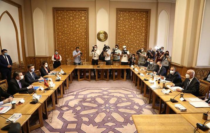 Mısır Dışişleri Bakanlığı duyurdu: Türk heyeti ile görüşme başladı