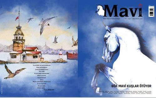 Mavi Gök dergisi yayın hayatına başladı
