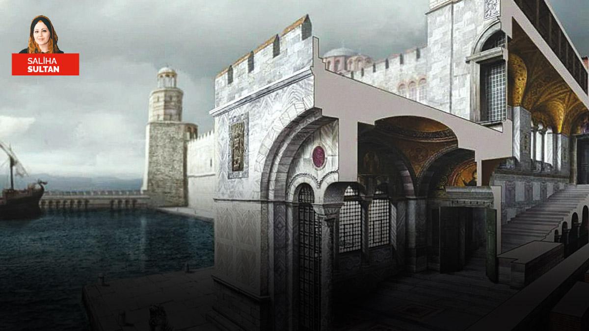 SALİHA SULTAN: Virane saray açık hava müzesi oluyor