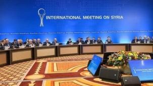 Kazakistan'da Suriye konulu 16. Astana Zirvesi gerçekleşiyor