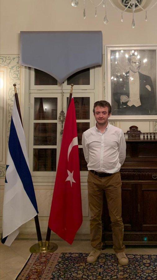 Yazarımız Selim Öztürk Bey Tel Aviv Büyükelçiliği Kültür Müşavirliğine Atandı