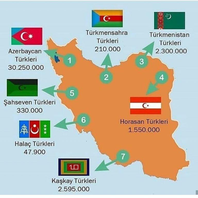 Mehdi Dehghan yazdı: İran'ın Türkçe konuşan halklarının ve etnik gruplarının mitolojisinde Mısır ve Mısır ülkesi