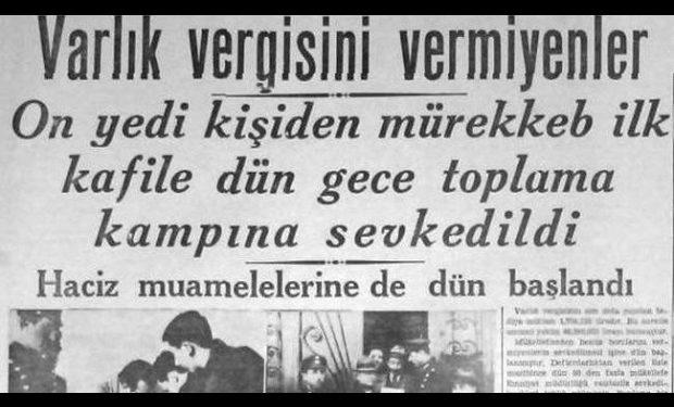 2. Dünya Savaşında Türkiye'nin Ekonomik Tedbirleri: Varlık Vergisi