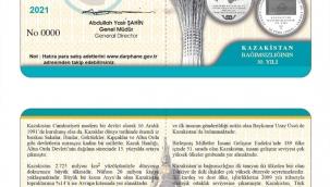 Kazakistan hatıra parasının sırrı
