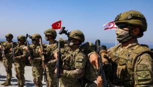 """KKTC'deki """"Şehit Yüzbaşı Cengiz Topel Akdeniz Fırtınası Tatbikatı"""" sona erdi"""
