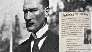 Rumlardan Atatürk'e küstah davranış!