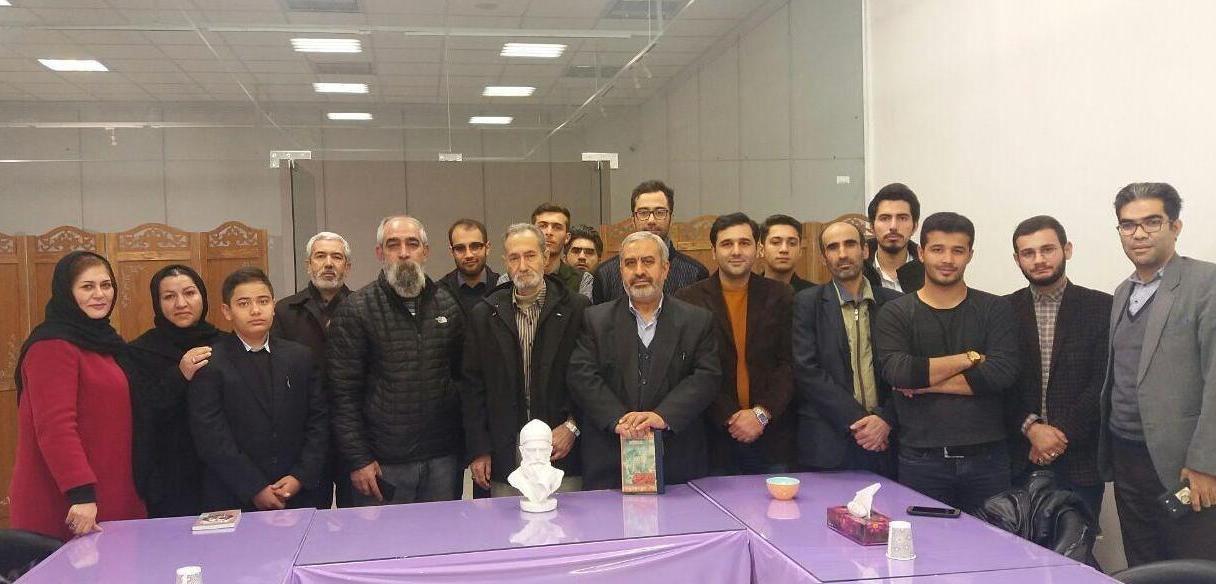 İran'da Kurulan Fuzuli Okuma Derneği Başkanı Hacı Mustafa Golizade Aliyar'la yapılan ropörtaj