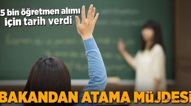 25 bin öğretmen alınacak!