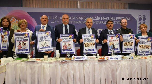 477. ULUSLARARASI MANİSA MESİR MACUNU FESTİVALİ