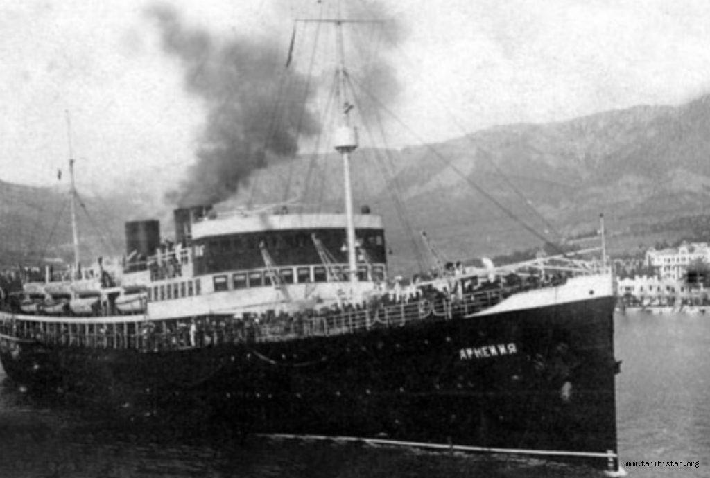 7.000 Yolcusuyla Birlikte Batan Sovyet Gemisinin Enkazı 80 Yıl Sonra Karadeniz'de Bulundu!