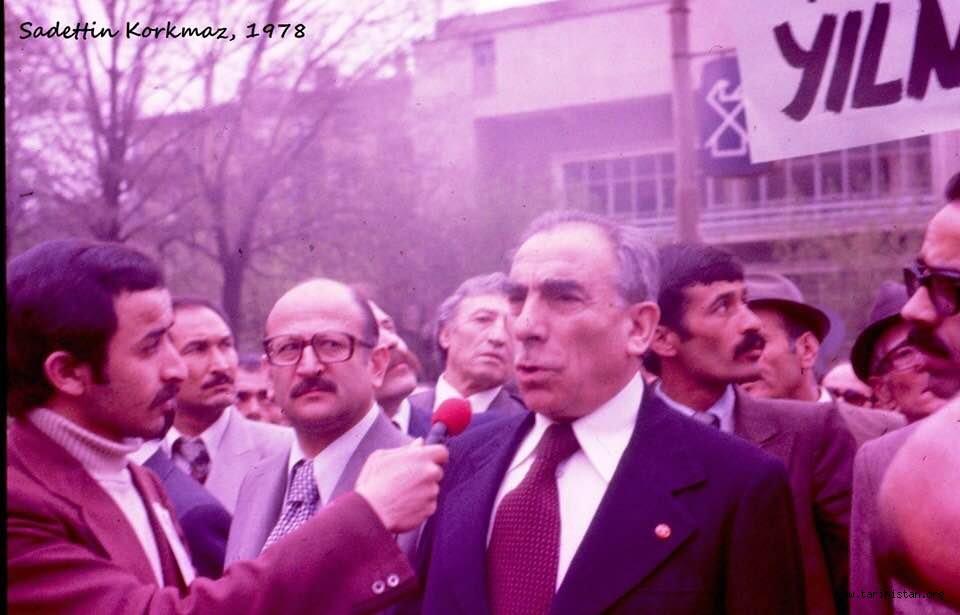 """A. Yağmur Tunalı Hocamız tarihi """"1978 ERZURUM YÜRÜYÜŞÜ""""nü yazdı."""