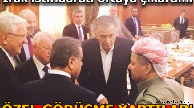 ABD ile İsrail kurdu! Barzani destek verdi