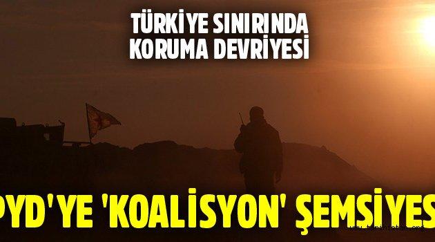 ABD öncülüğündeki koalisyon YPG'yi koruyor!
