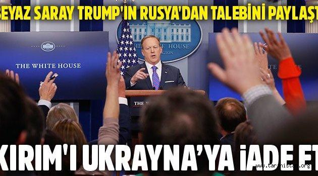 ABD Rusya arasında Kırım gerginliği
