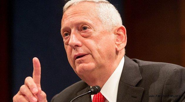 ABD Savunma Bakanı Jim Mattis: Afganistan'da savaşı kazanmıyoruz