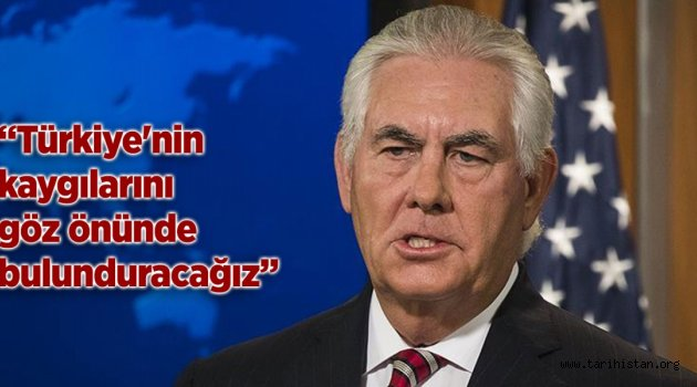 ABD Türkiye'ye karşı ağız değiştirdi