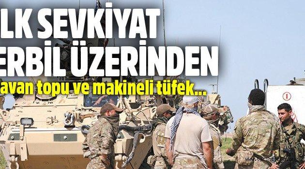 ABD YPG'ye ilk sevkiyatını Erbil üzerinden yapıyor
