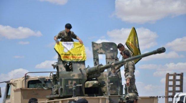ABD'den PKK'nın Suriye koluna zırhlı araç