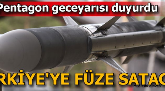 ABD'li şirket Türkiye'ye füze satacak