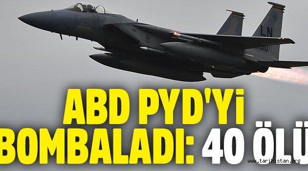 ABD'nin, Rakka'da PKK/PYD'yi vurduğu iddia edildi