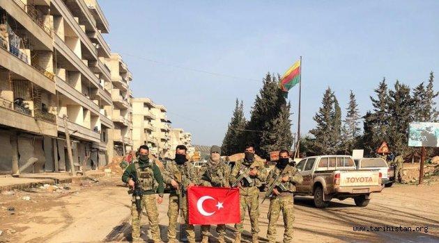 Afrin Türk Bayrağının gölgesine sığındı