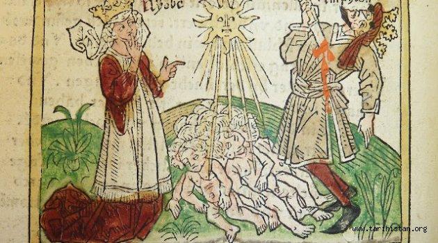 Ağlayan Kaya veya Niobe - Çaybaşı Deresi