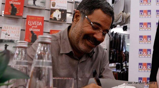 Ahmet Ümit: 'Kitap, ekmek, yumurta, süt gibi önemli'