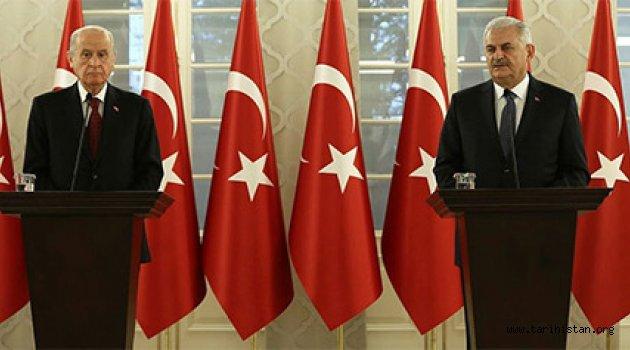 AK Parti-MHP Yeni Anayasa için uzlaştı