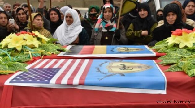 Alman ve Amerikalı teröristlerin cenazeleri