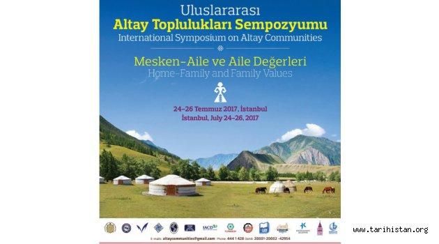 Altay Toplulukları Sempozyumu