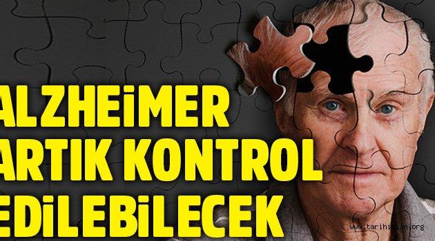 Alzheimer kontrol edilebilecek