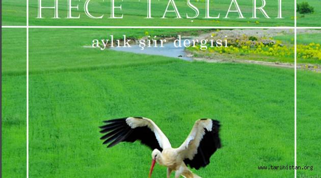 Aylık Şiir Dergisi Hece Taşlarının Yeni Sayısı