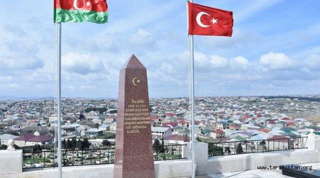 Azerbaycan'da Osmanlı şehitleri için anıtı yapıldı