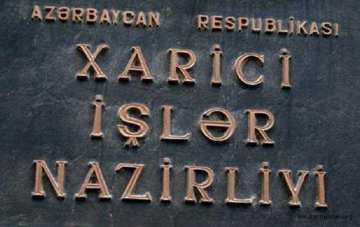 AZERBAYCAN'DAN KARABAĞ İŞGALCİLERİNİN SÖZDE SEÇİMLERİNE DAİR AÇIKLAMA