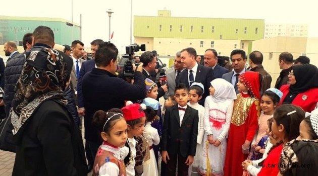 Bağdat'taki Türkmen İlkokulunda Türkçe dersi okutulacak