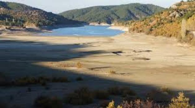 Barajlarda Sular Az Seviyede