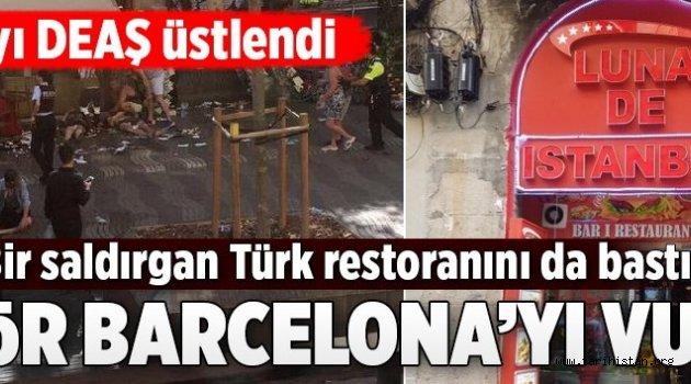 Barcelona'da terör!.