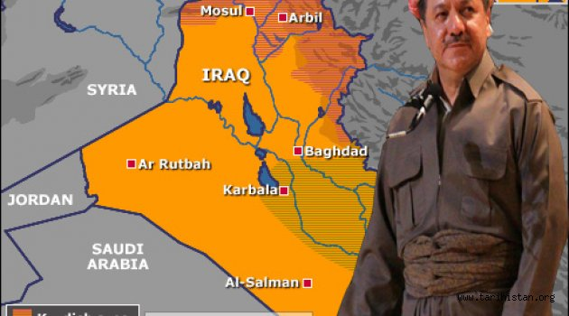 Barzani bölgeyi ateş çemberine sokuyor. Türkmenler endişeli