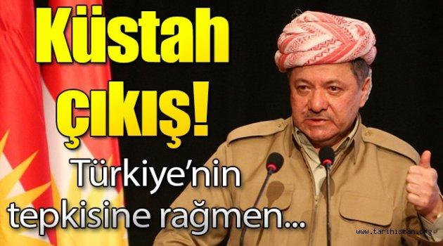 Barzani'den Türkiye aleyhine küstah çıkış!