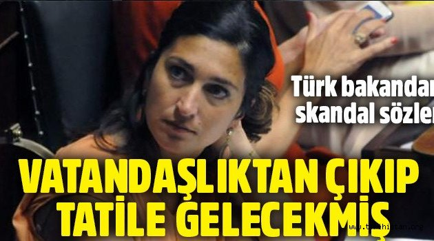 Belçikalı Türk! bakan Zuhal Demir Türk vatandaşlığından çıkıyor