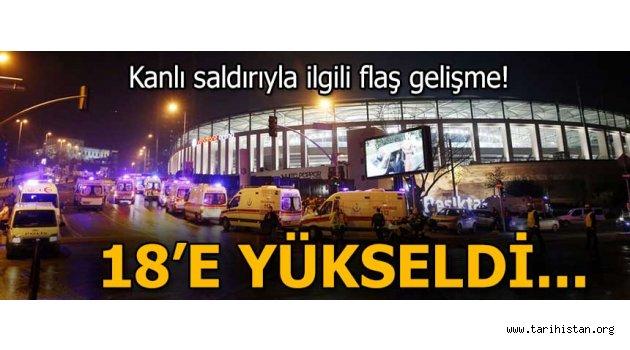 Beşiktaş'taki kanlı saldırıyla ilgili flaş gelişme