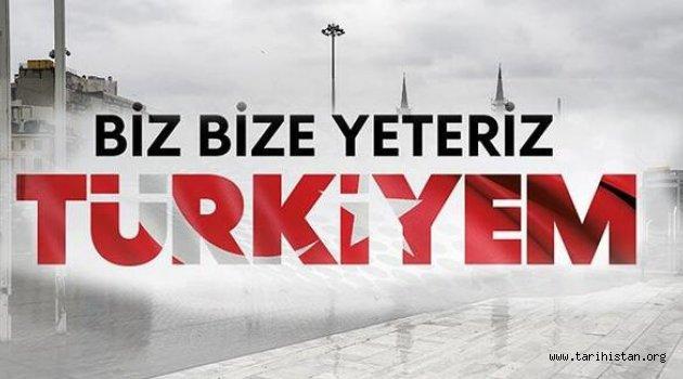 """""""Biz Bize Yeteriz Türkiyem"""" Kampanyasına Destek"""