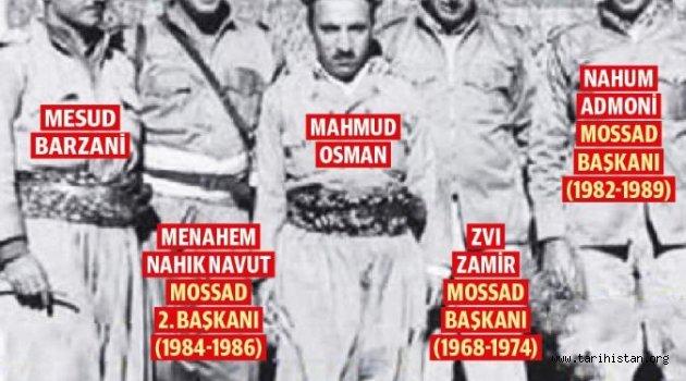 Barzani-MOSSAD İttifakı