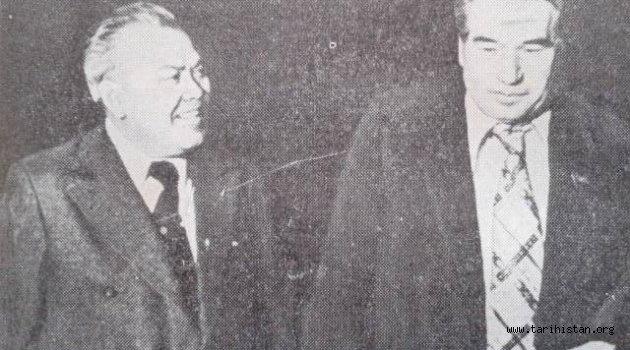 Cengiz Aytmatov ve Adil Yakubov aynı karede