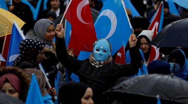 Çin'e Uygurlar konusunda yaptırım sinyali!