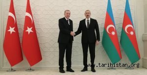 CUMHURBAŞKANI ERDOĞAN AZERBAYCAN'DA: KARABAĞ, AZERBAYCAN KADAR BİZİM DE MESELEMİZDİR