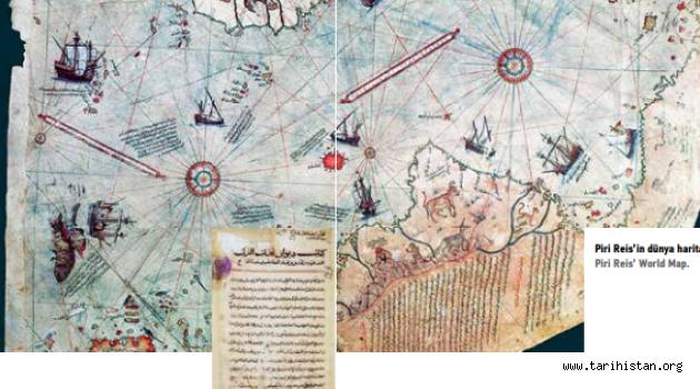 Dîvânu Lugâti't-Türk ve Piri Reis'in Haritası