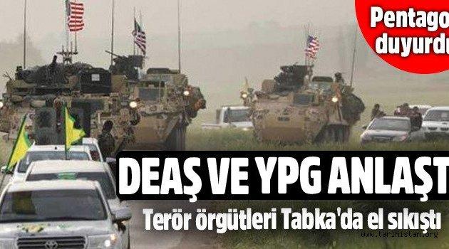 DEAŞ ve YPG Tabka Barajı için anlaştı