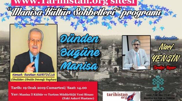 """""""Dünden Bugüne Manisa"""" konuşulacak"""