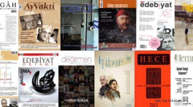 Edebiyat dergilerle ayakta